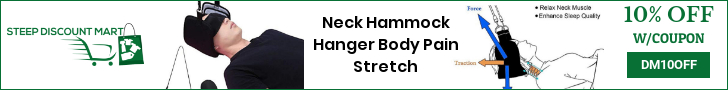 Neck Hammock Hanger Body Pain Stretch