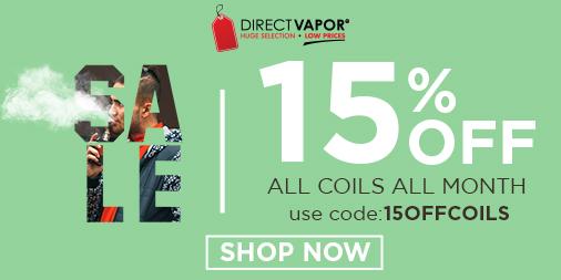 15% OFF Coils