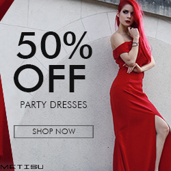 Women's Party Dresses 50% OFF