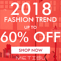 2018 Fashion Trend 60% OFF Metisu