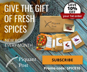 Spices subscription box