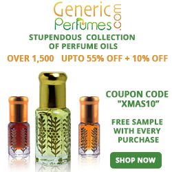 Choose from the wide array of fragrances and perfume oils. Visit www.genericperfumes.com