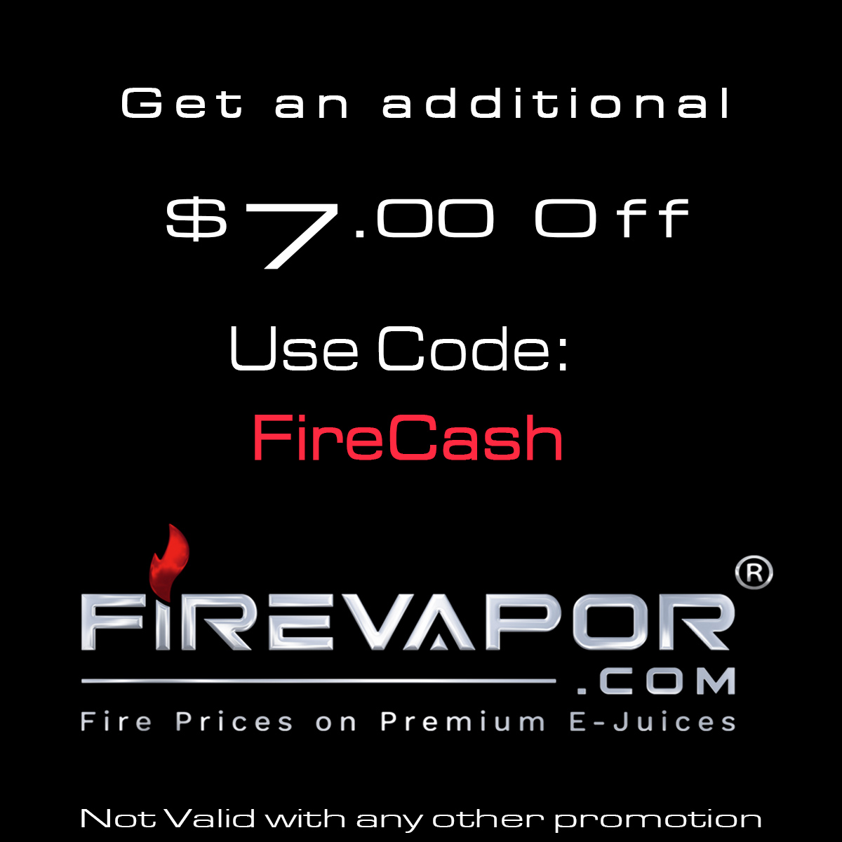 Fire Vapor Coupon Codes and Coupons