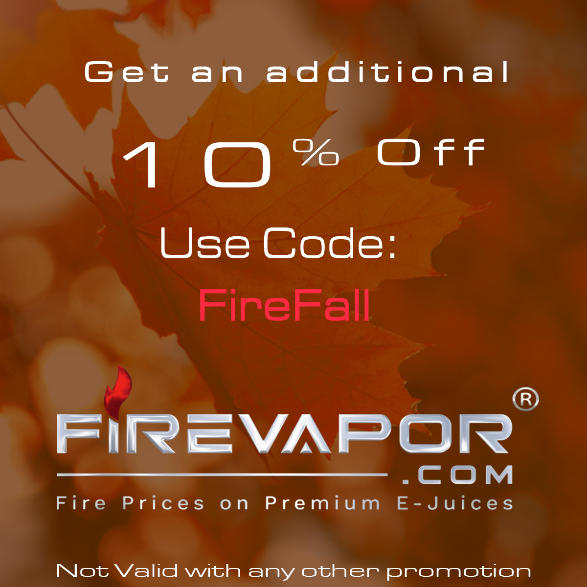 fire vapor deals, Coupon Code and offer