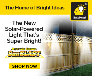 The Brightest Solar-Powered Motion Sensor LED Light You'll Ever Own