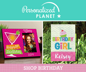 Shop birthday gifts at PersonalizedPlanet.com