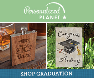 Shop graduation gifts at PersonalizedPlanet.com