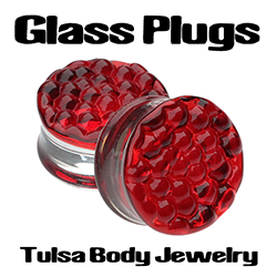 Glass Plugs