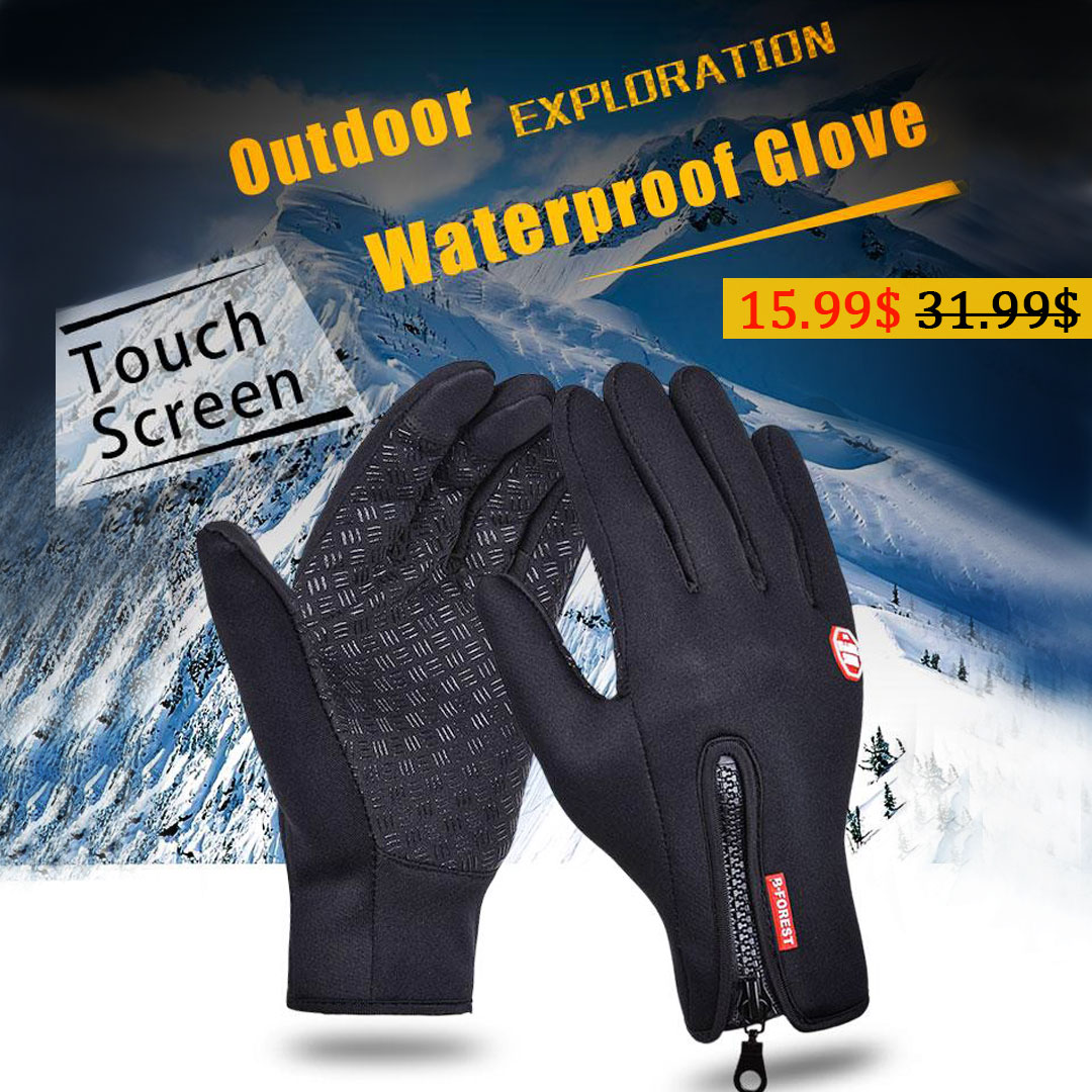 50%OFF FOR SOFT WARM GLOVES FOR OUTDOOR SPORTS HIK