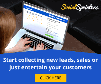 Start collecting new leads, sales or just entertain your customers.