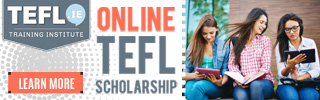 Online Tefl Course Scholarship