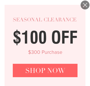 $100 Off $300 Purchase