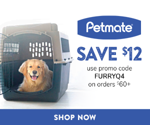 $12 Off Orders $60+ with code FURRYQ4 at Petmate.com through 12/31/20.