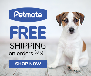 Free shipping on orders $49+ at Petmate.com