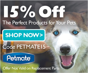 15% Off at Petmate.com with code PETMATE15 (valid thru 1/15/18)