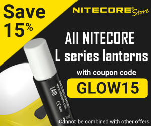 Save 15% on NITECORE Lanterns