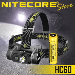 NITECORE HC60 1000 Lumen USB Rechargeable Headlamp