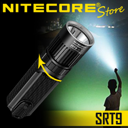 NITECORE SRT9 White/Red/Green/Blue/UV LED Flashlig