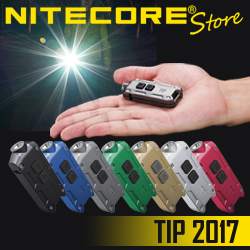 NITECORE TIP 2017 USB Rechargeable Keychain Light