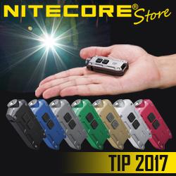 NITECORE TIP 2017 USB Rechargeable Keychain Light