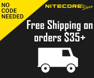 Free Shipping on NITECORE Store Orders Over $35 - No Code Needed!