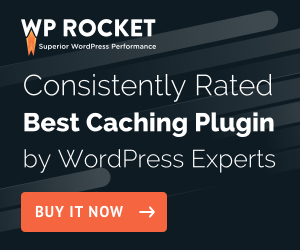 WP Rocket - WordPress Website Cache Plugin