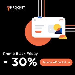 WP Rocket Black Friday - WordPress Caching Plugin