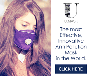 U.Mask - The First Biotech Anti-Pollution Mask in the World