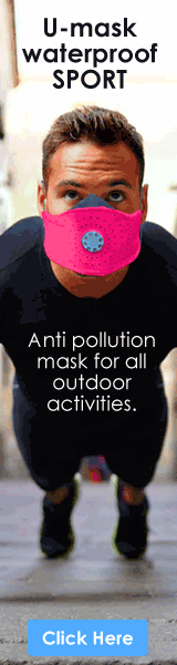 Anti Pollution Mask - U-Mask the best biotech respirator