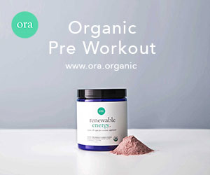 Organic Pre Workout Powder
