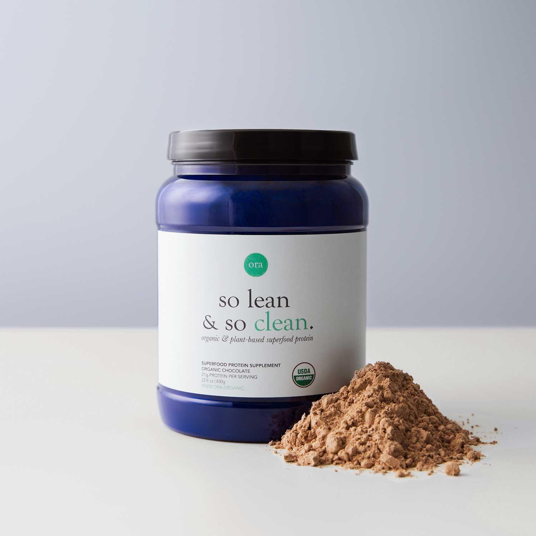 Organic Chocolate Protein Powder
