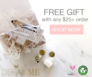 Free Gift with any $25 and over purchase