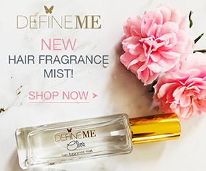 DefineMe - New Hair Fragrance Mist!