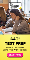SAT test prep with the Princeton Review