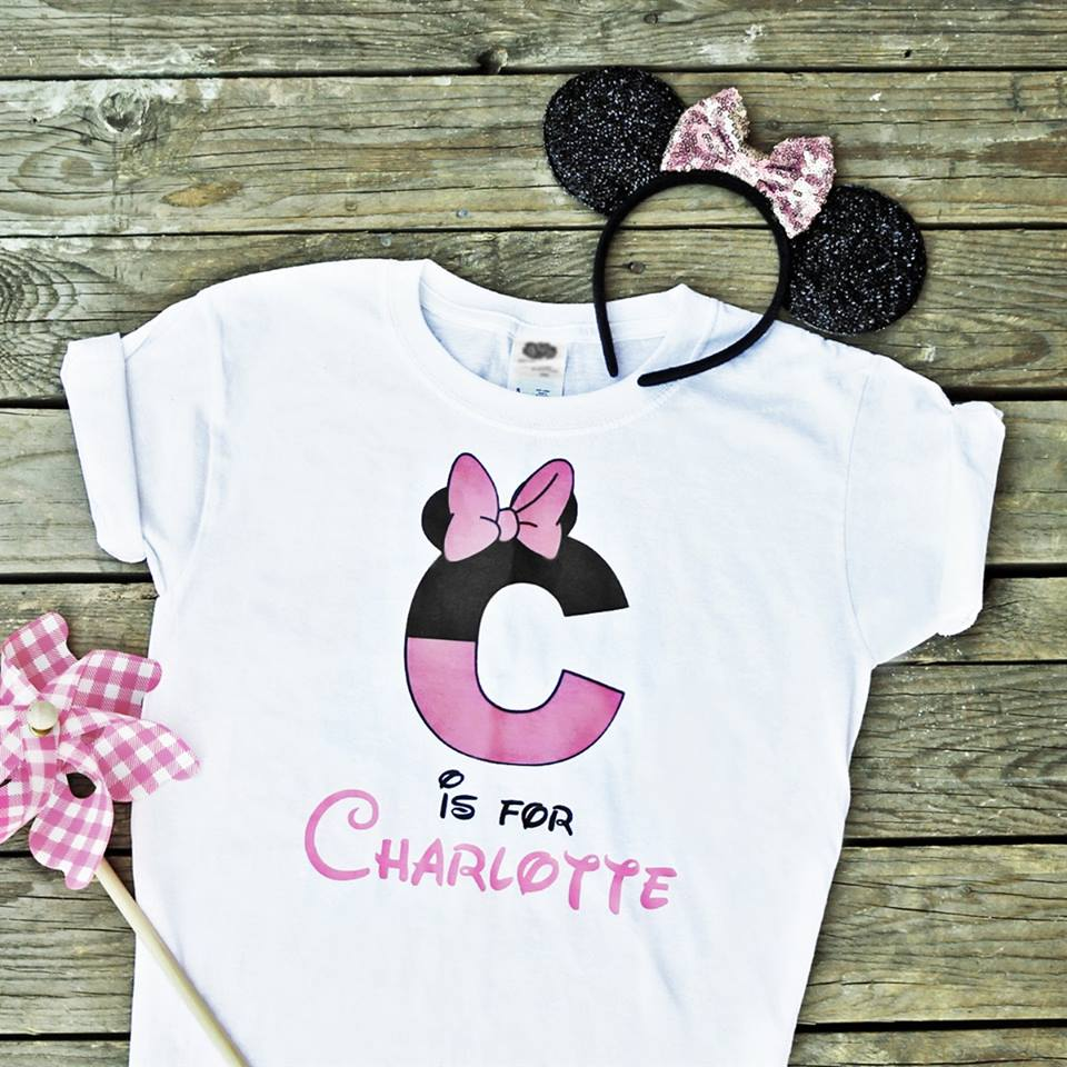 Personalized Character Tees