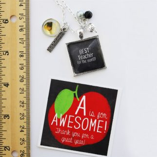 Necklaces that show how much you appreciate your teacher