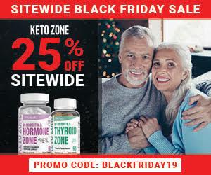 Ketozone Black Friday Banner 300x250