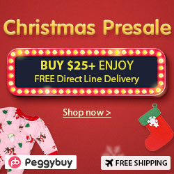 Christmas Presale-Buy $25+Enjoy Free Direct Line Delivery