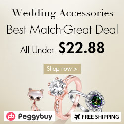 Wedding Accessories, Up To 65% OFF