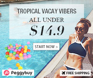 Tropical Vacay Vibers, All Under $14.9
