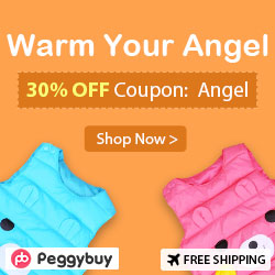 30% OFF for Warm Autumn Winter Cotton Bear Cartoon Kids Lovely Vest(3 colors, 1Y-5Y), Coupon Code: Angel