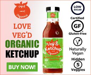 Love Veg'd Organic Ketchup
