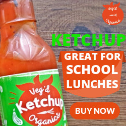 KETCHUP GREAT FOR SCHOOL LUNCHES