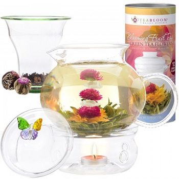 Butterfly Blooming Tea Gift SEt
