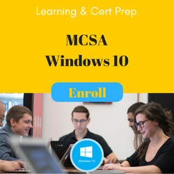 MCSA Windows 10 Cert Prep