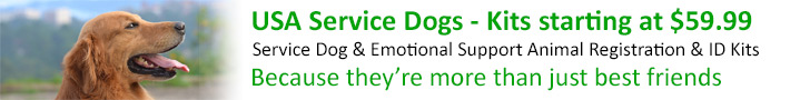 Service Dog Registration - USA Service Dogs
