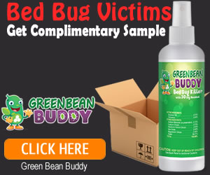 Bed Bug Victims Receive Free Sample