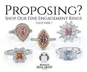 proposing? shop fine engagement rings at roman malakov