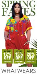 whatwears.com - Buy 2 Get 12% OFF