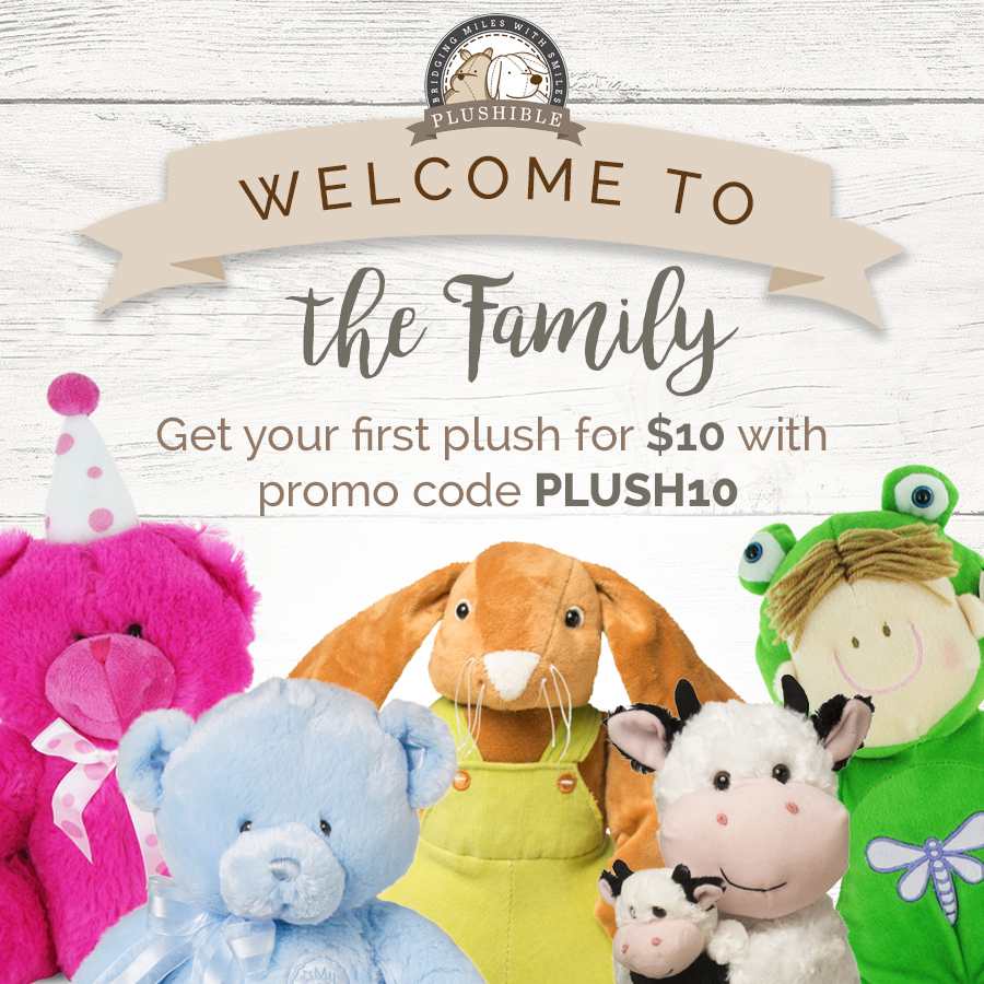 Get your first plush for $10